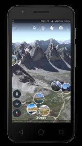 Aplikacje dla fotografów - Google Earth