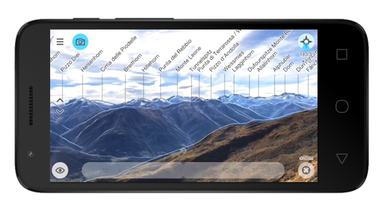 Aplikacje dla fotografów - Peak Finder AR