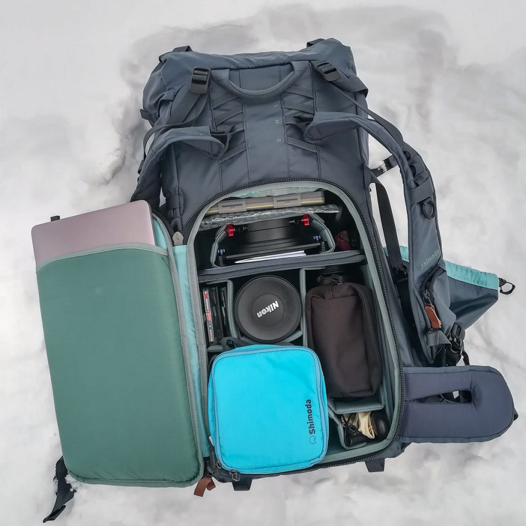 Shimoda Explore 60 - plecak tył