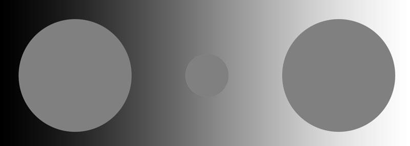 Oświetlenie do retuszu zdjęć - percepcja koloru